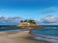Island Fort du Guesclin beach