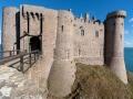 Château de la Roche Goyon, Fort la Latte entrance