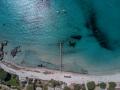 Corsica Santa Giulia beach drone