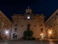 The Lluc monastery night