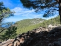 Hiking on the cami de sarxiduc near Valldemossa