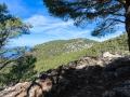 Hiking on the cami de sarxiduc near Valldemossa