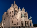 The basilique Sacré-Cœur de Montmartre at night