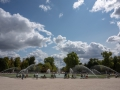 The Jardin des Tuileries garden