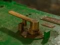 Railway locomotive power handle