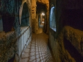In the catacombs of domitilla near rome