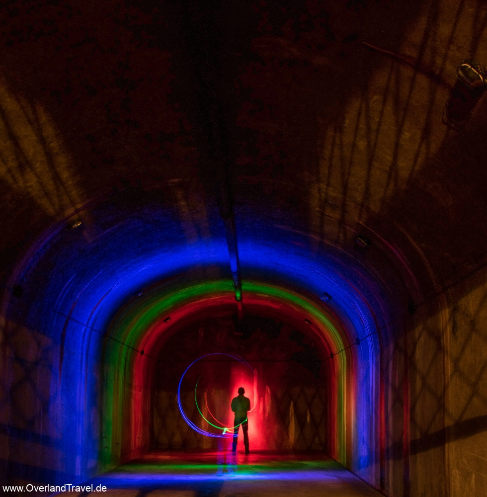 Fort Ouvrage Michelsberg Maginot Line light painting