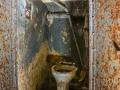 Fort Ouvrage Michelsberg Maginot Line flush lavatory,