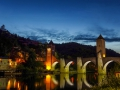 Camino-Santiago-Mtb-Via-Podiensis-Cahors-Bridge-Night