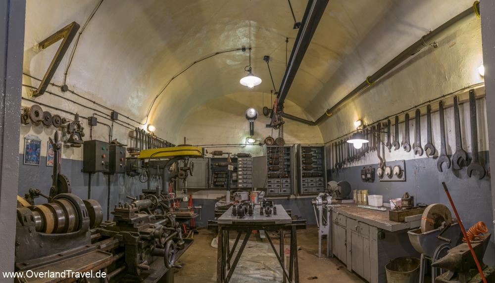 The machine shop, still in use
