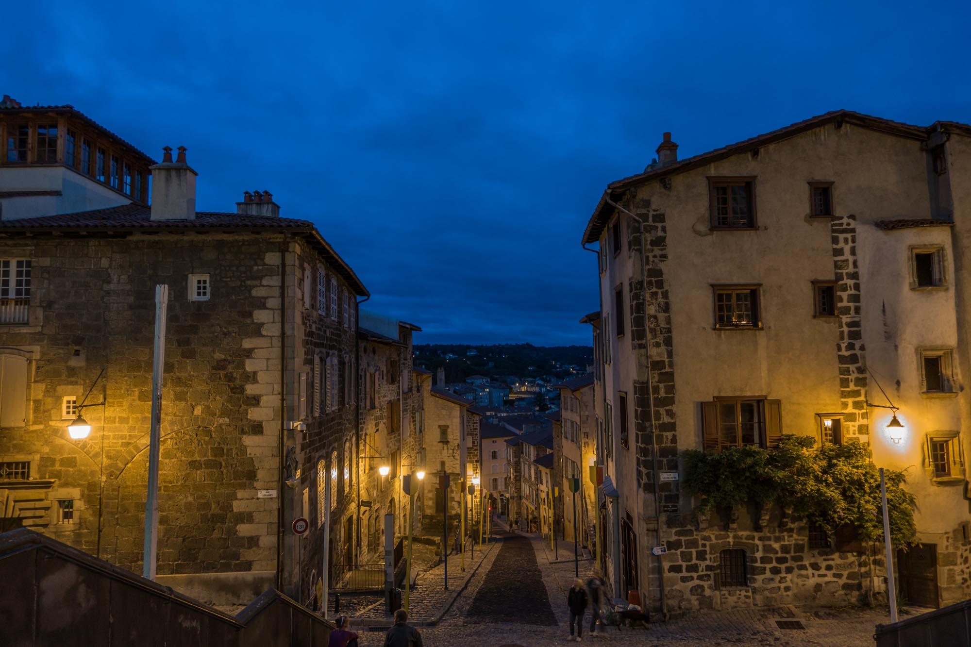 Le Puy en Velay night