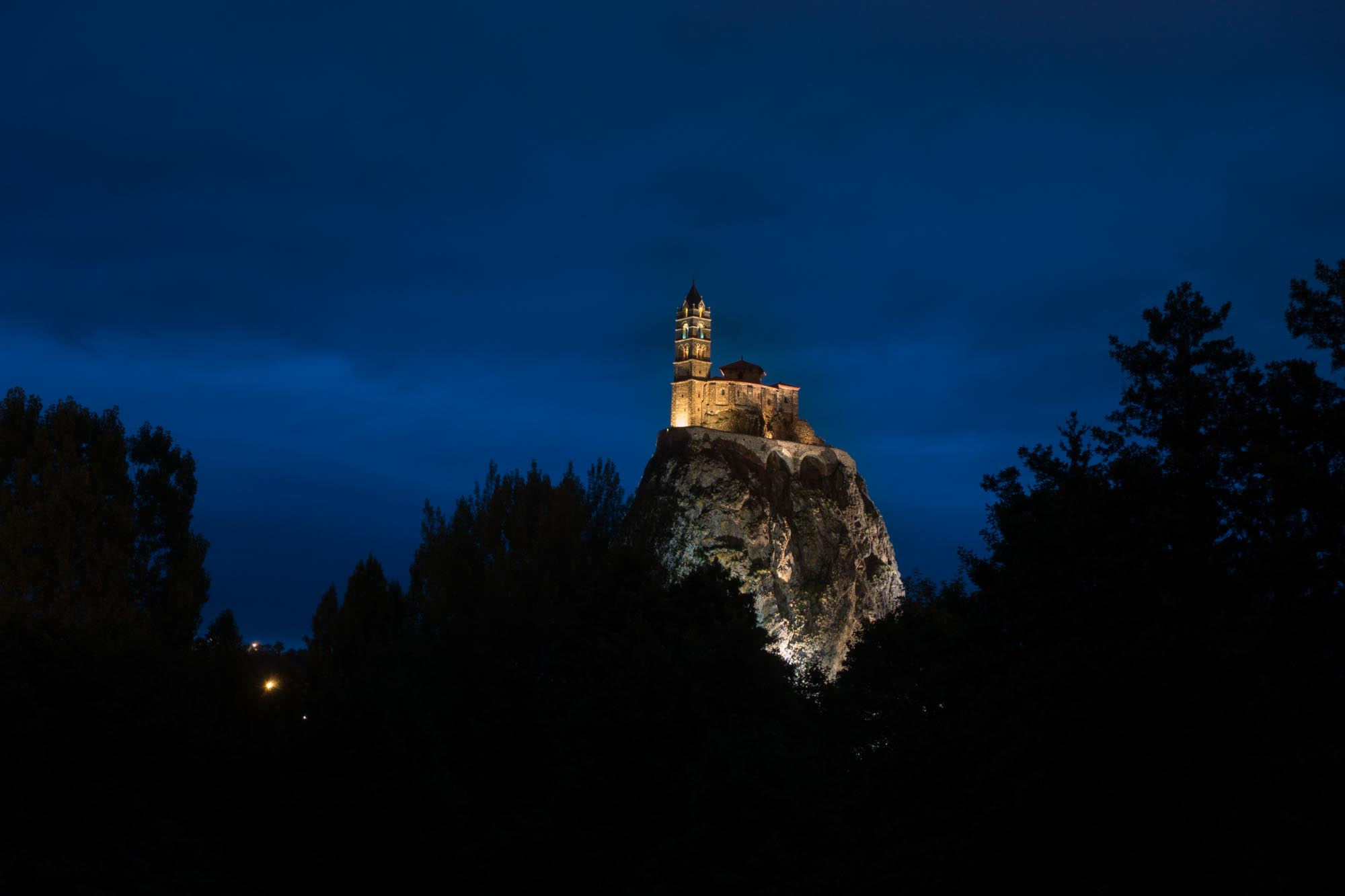 Le Puy en Velay Chapel on the volcano cone