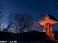 teufelstisch-pfalz-hinterweidenthal-nacht-sterne-beleuchtet-sonnenuntergang-light-painting