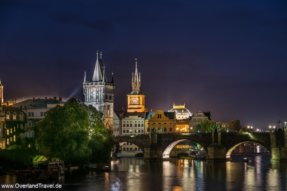 The famous Charles Bridge in the blue hour. My Favourite Picture