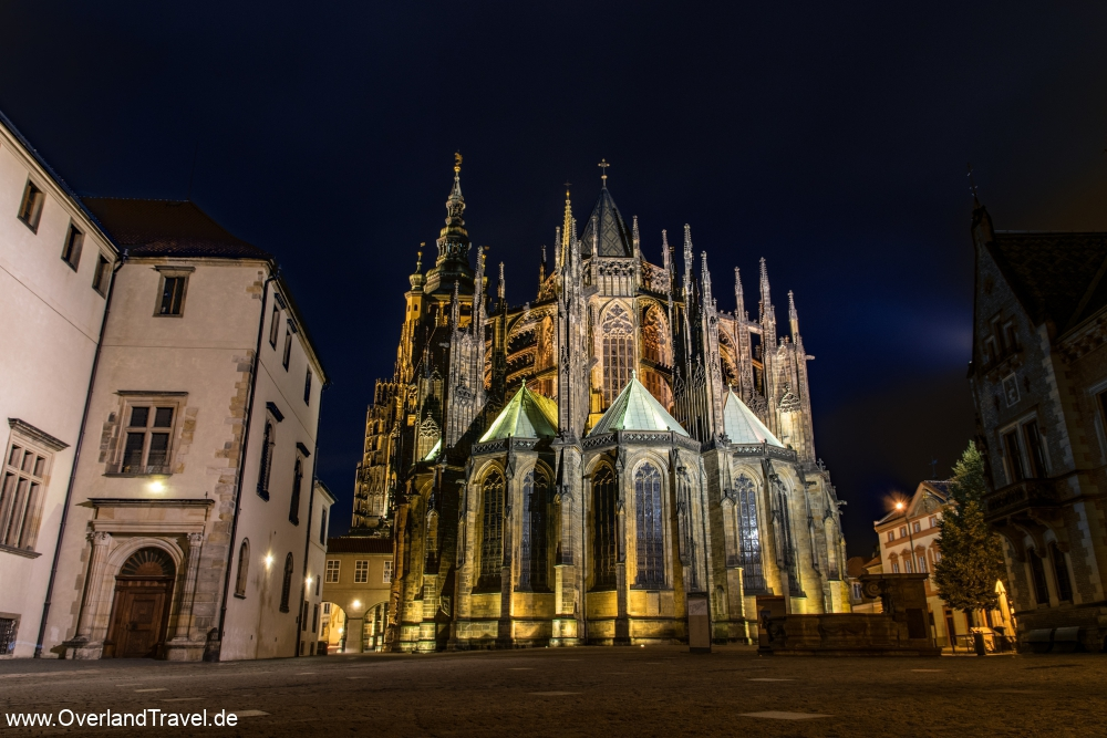 The St. Vitus Cathedral in the Prague Castle