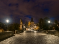 On the Charles Bridge at 6 o\'clock in the morning