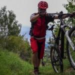 Camino Santiago Mtb steep uphill