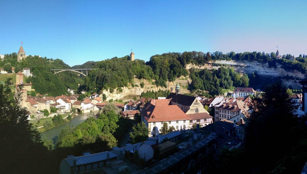 Fribourg Jakobsweg Via Jacobi mtb