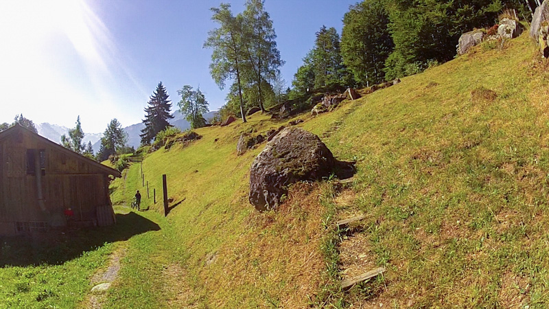 mtb Jakobsweg Via Jacobi Uphill auf Stufen
