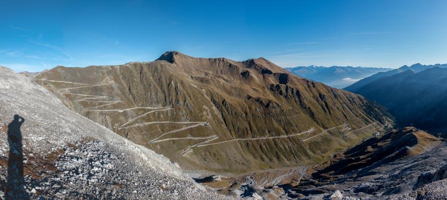 Stilfser Joch Tibet trail vinschgau mtb panorama