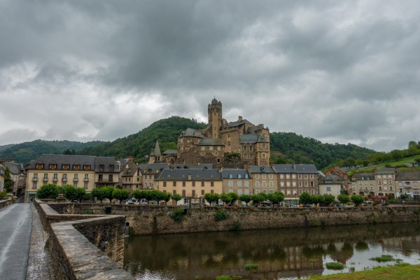 Camino Santiago Mtb Via Podiensis Estaing jakobsweg mountainbike