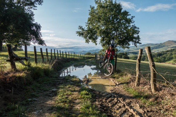 Camino Santiago Mtb Via Podiensis Irissarry jakobsweg mountainbike