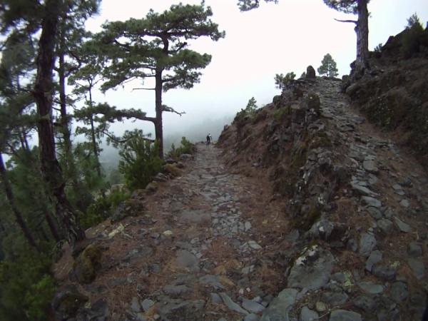 La Palma, Reventon Pass, Mtb