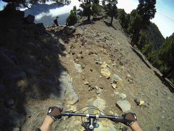 La Palma-Roque de los Muchachos-Caldera de Taburiente-Mtb Supertrail