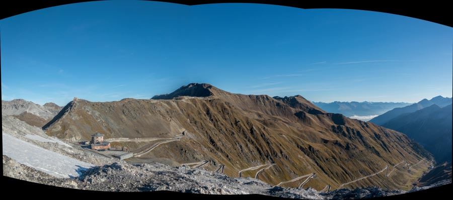 Stelvio Pass Goldsee Trail Panorama