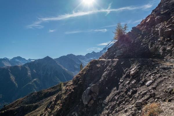 Vinschgau mtb Goldsee Trail