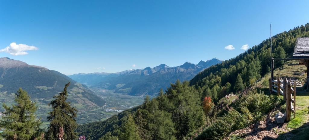 Vinschgau mtb Goldsee Trail Glurnser Alm