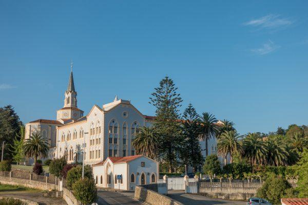 Camino del norte mtb Monasterio de Cobreces