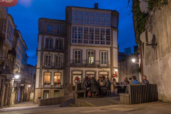 Santiago de Compostela night 2