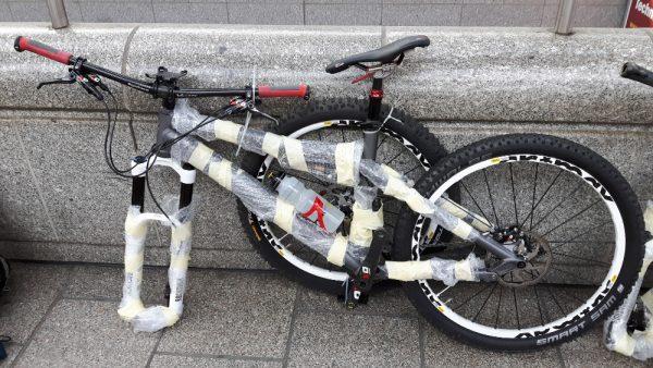 fahrrad reisegepaeck ice jakobsweg mountainbike