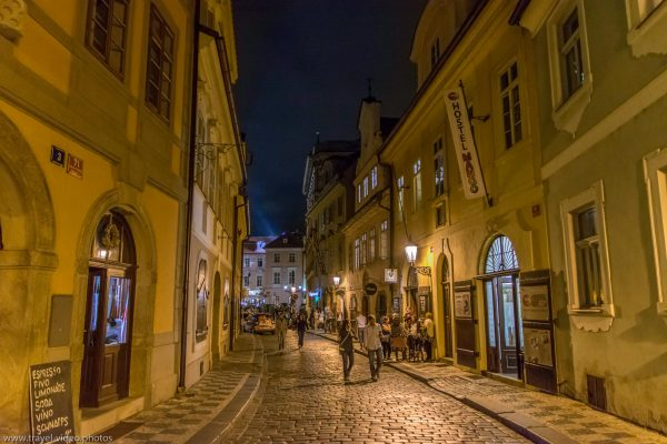 prag Prague blue hour available light night old town