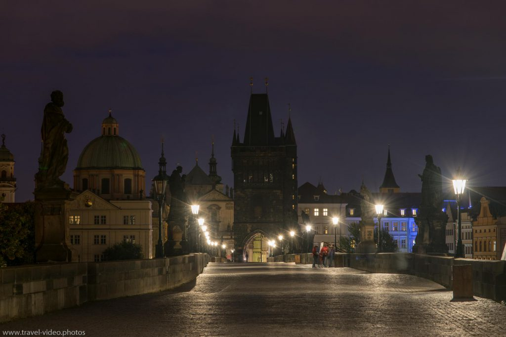 Prag Prague Blue Hour Available Light Karlsbrücke Charles Bridge Karlův most Old Town Bridge Tower Staroměstská mostecká věžNight
