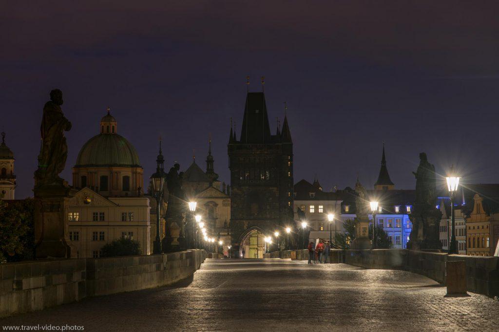Prag Prague Blue Hour Available Light Karlsbrücke Charles Bridge Karlův most Old Town Bridge Tower Staroměstská mostecká věžNight