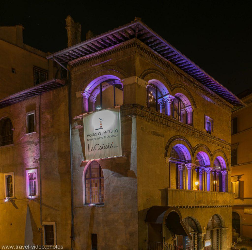 rome rom roma night blue hour