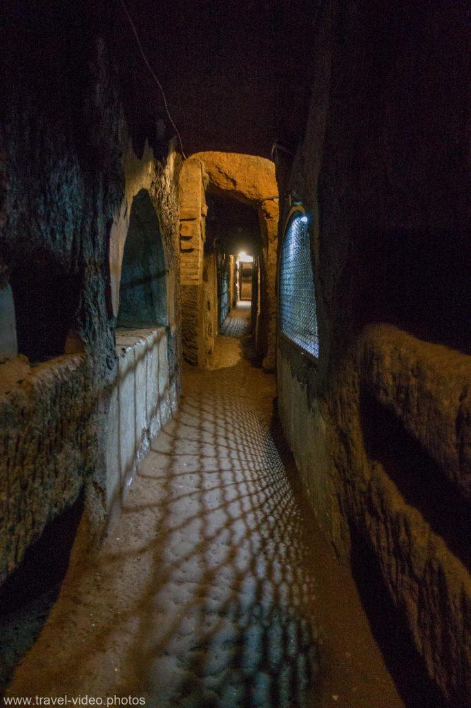 rome catacombs of domitilla underground