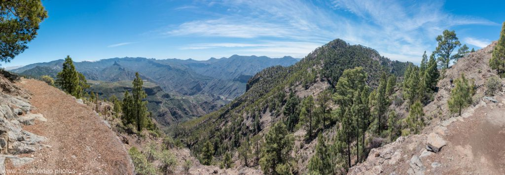 gran canaria caldera panorama mtb
