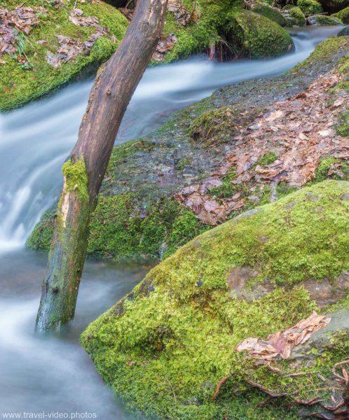 Edelfrauengrab Wasserfall Ottenhöfen Graufilter ND Filter Schwarzwald Gottschlägbach