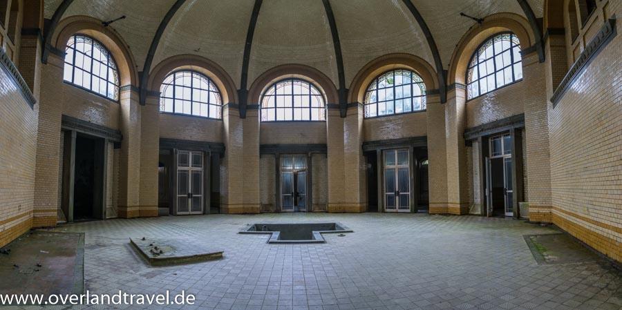 beelitz heilstatten lost place Badehaus, Zentralbad