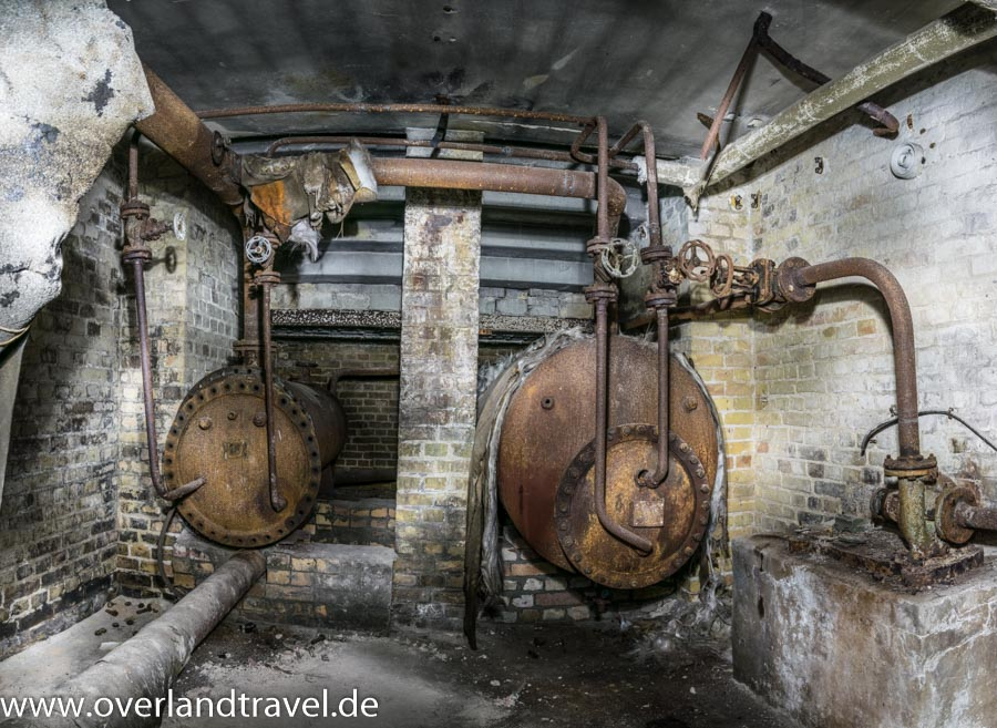 beelitz heilstatten lost place Verwaltungsgebäude Heizungskeller