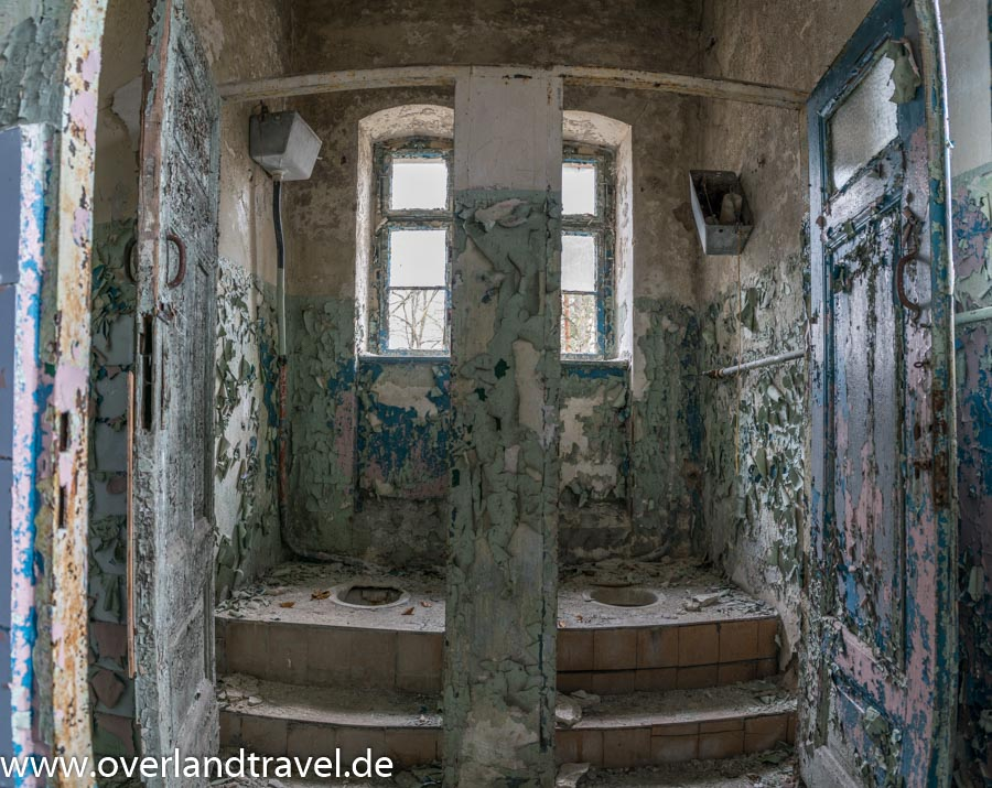 beelitz heilstatten lost place Verwaltungsgebäude Toilette