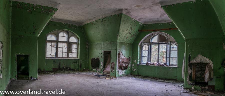 beelitz heilstatten lost place zimmer grün