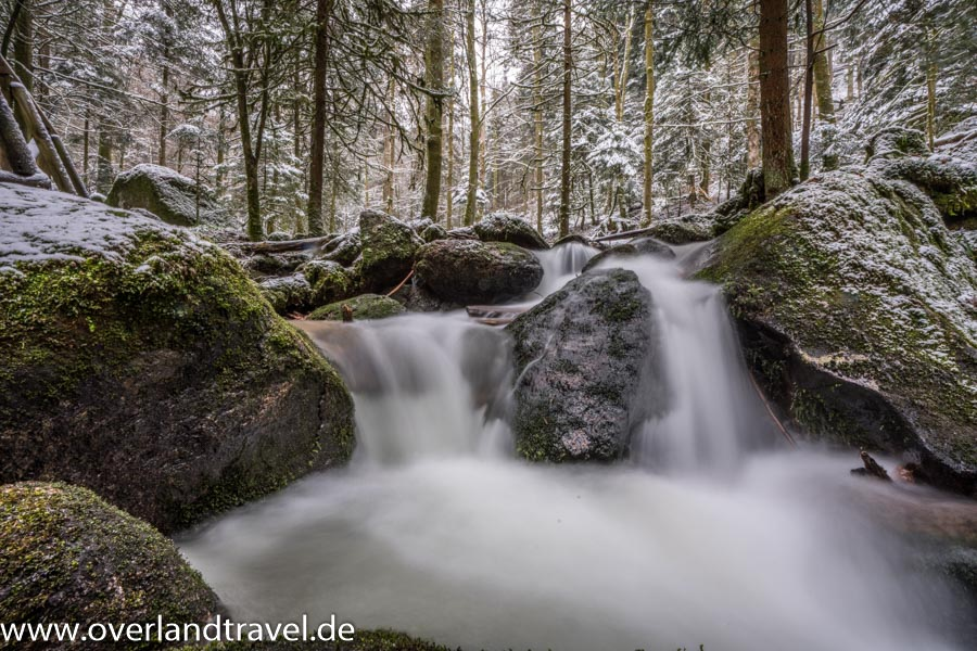 a7r3 16 35 f2.8 winter sony alpha 7r iii winter snow gertelbacher waterfall buhlertal no ND filter