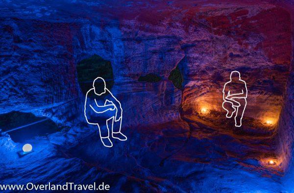 light painting burg drachenfels dahn felsenland 2